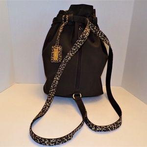 Nine West Dark Brown Backpack/Handbag